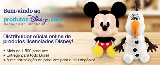 Disney lança seu primeiro e-commerce no Brasil